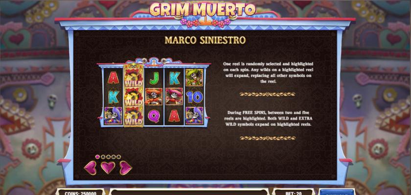 Grim Muerto - Marco Sinietro